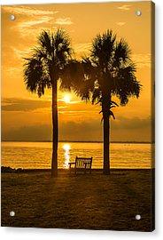 Summer Sunrise - Charleston Sc Acrylic Print