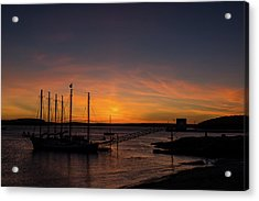 Summer Sunrise In Bar Harbor Acrylic Print