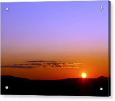 Acrylic Print featuring the photograph Summer Sunset by Gary Smith