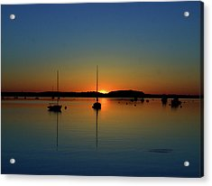 Summer Sunset Monument Beach Acrylic Print