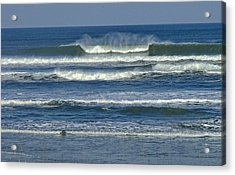 Summer Swell Acrylic Print by Donna Cain