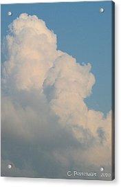 Summer Time Cloud Acrylic Print by Carolyn Postelwait