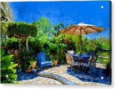 Summer Time Acrylic Print by SM Shahrokni
