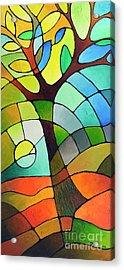 Summer Tree Acrylic Print