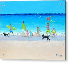 Summer Vacation Time Acrylic Print