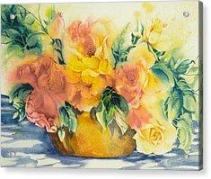 Summer-warmth Acrylic Print by Nancy Newman