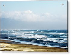 Summer Waves Netarts Oregon Acrylic Print