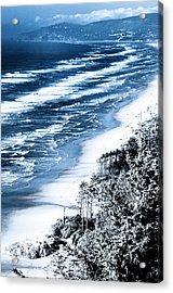 Summer Waves Cape Lookout Oregon Coast Acrylic Print