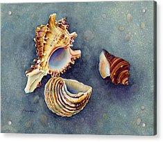 Summer Whispers Acrylic Print by Hailey E Herrera