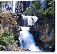 Acrylic Print featuring the photograph Summer White Water by Al Fritz