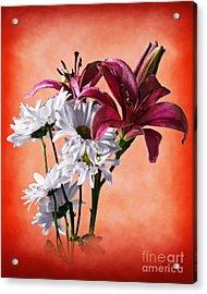 Summer Wild Flowers  Acrylic Print