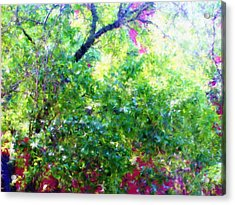 Summer Window Acrylic Print