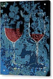 Summer Wine Acrylic Print by Frank Tschakert