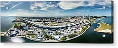 Acrylic Print featuring the photograph Summerfest Panorama by Randy Scherkenbach