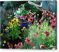 Acrylic Print featuring the photograph Summer's Beauty by P Maure Bausch