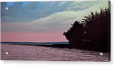 Summers Eve Acrylic Print by Kenneth M  Kirsch