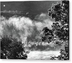 Acrylic Print featuring the photograph Summer's Leaving by Steven Huszar