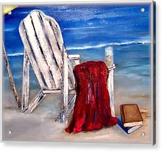 Summers Over Acrylic Print by Penny Everhart