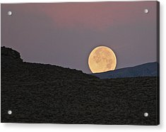 Summers Super Moon Acrylic Print