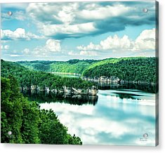 Summertime At Long Point Acrylic Print