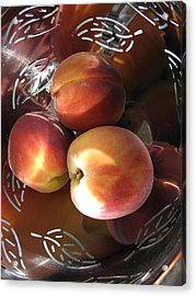 Acrylic Print featuring the photograph Summertime Fruit by Lindie Racz