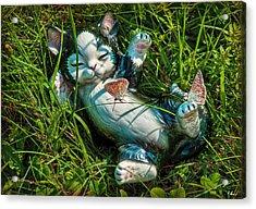 Summertime In My Garden Acrylic Print