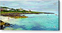 Summertime, Isle Of Iona Acrylic Print by Judi Bagwell