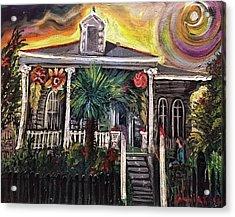 Summertime New Orleans Acrylic Print
