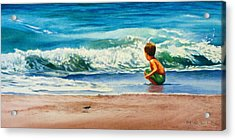 Summertime Pals Acrylic Print by Bob Nolin