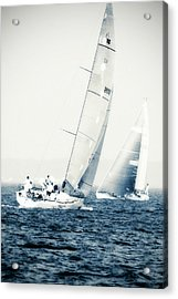 Summertime Race 1 Acrylic Print by Alan Hausenflock
