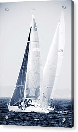 Summertime Race 5 Acrylic Print by Alan Hausenflock