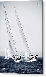 Summertime Race 6 Acrylic Print by Alan Hausenflock