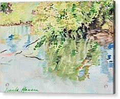 summertime V Acrylic Print by Lucinda  Hansen