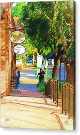 Summerville Sc Acrylic Print by Donna Bentley