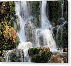 Summit Creek Waterfalls Acrylic Print