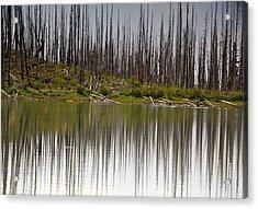 Summit Lake Acrylic Print