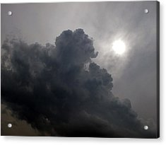Sun Above The Clouds  Acrylic Print