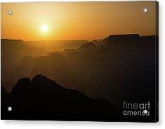 Sun And Layers Acrylic Print by Jamie Pham