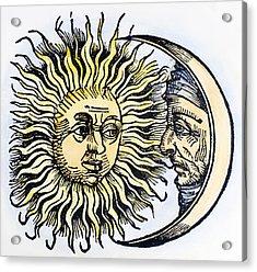 Sun And Moon, 1493 Acrylic Print