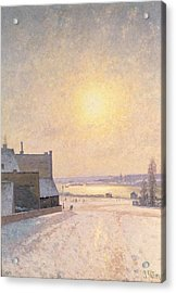 Sun And Snow Acrylic Print by Per Ekstrom
