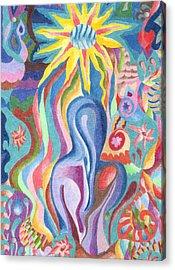 Sun Bath Acrylic Print by Molly Williams