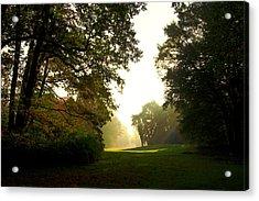 Sun Beams In The Distance Acrylic Print