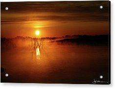 Sun Birth Acrylic Print