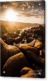 Sun Bleached Australia Beach Acrylic Print
