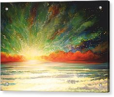 Sun Bliss Acrylic Print by Naomi Walker