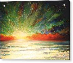 Sun Bliss Acrylic Print by Naomi Walker