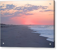 Acrylic Print featuring the photograph Sun Brightened Clouds by  Newwwman