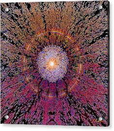 Sun Burst Acrylic Print by Michael Durst