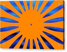 Sun Burst Acrylic Print by Todd Klassy