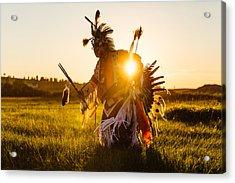 Sun Dance Acrylic Print